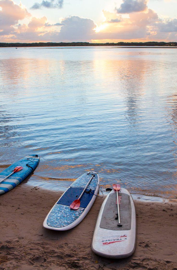 Who loves SUP? Do it here on the Sunshine Coast of Australia.