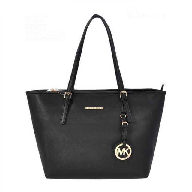 Although Michael Kors Jet Set Saffiano Travel Medium Black Totes Is The International Brand, It Is Not Only Belong To Celebritis.