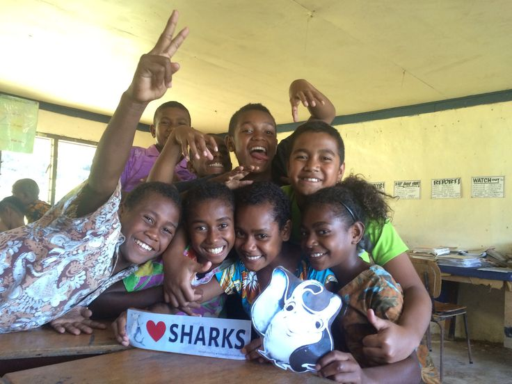 We love teaching our kids about shark conservation :)  #gvi #volunteerabroad