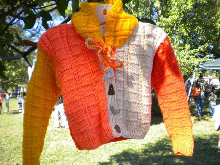 Shades of Orange / Yellow Hoodie Size 4 $42 by MagicNeedles on #zibbet