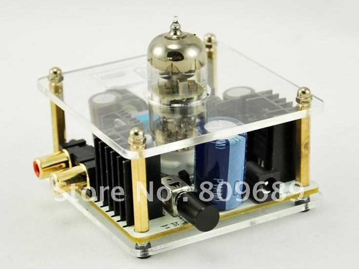 Wholesale MUSE Class A 6N11 Tube Headphone Amplifier & Pre AMP With Power Adapter