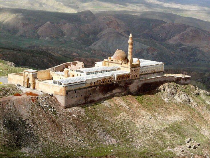 Ishak Pasha Palace, Doğubeyazıt district of Ağrı province of eastern Turkey