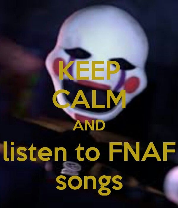 "Whats your fav fnaf song? :3 Mine is from the living tombstone five nights at freddys❤^^<--Schmew: Mine is ""I hope you *live* in a *nonpainfulplace*"" by the living tombstone. ^_^/"