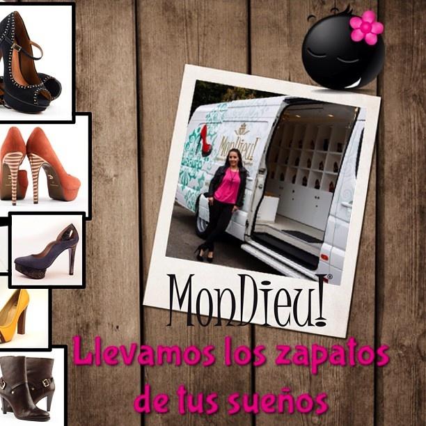 @mondieucolombia Llevamos los zapatos de tus sueños.