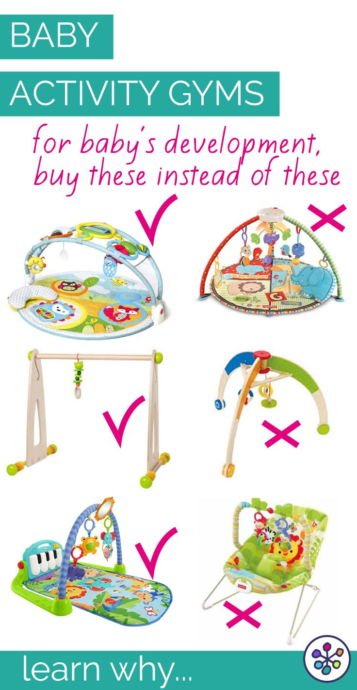 5 Tips for buying the best activity gym for your baby's development. Expert baby gear buying tips for your baby registry from an infant development expert (and mom). CanDoKiddo.com