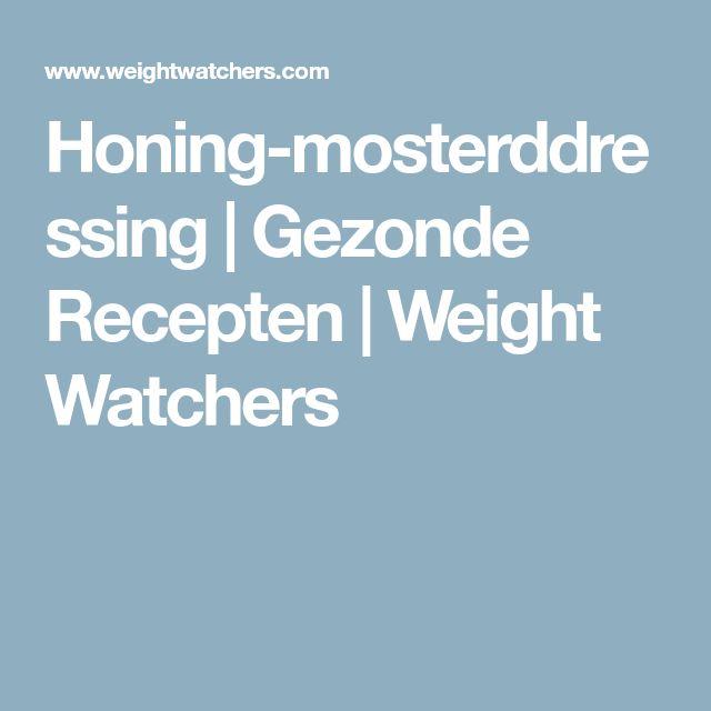 Honing-mosterddressing   Gezonde Recepten   Weight Watchers