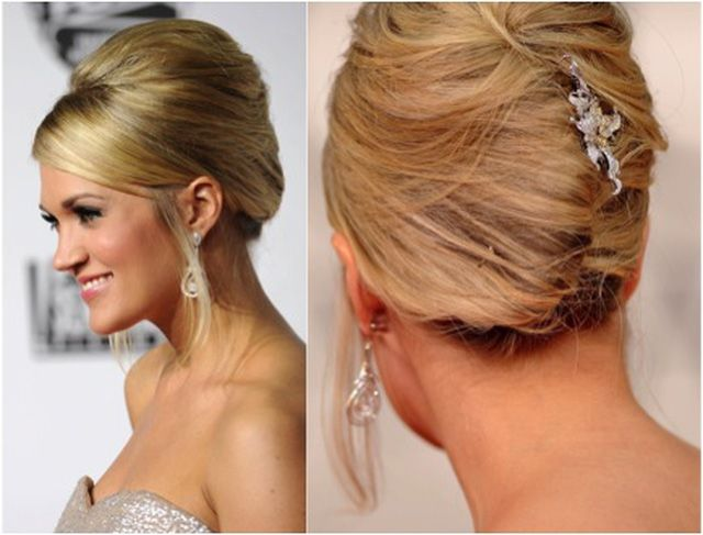 Top 20 Fabulous Updo Wedding Hairstyles: 8 Best Images About Mom's Updos On Pinterest