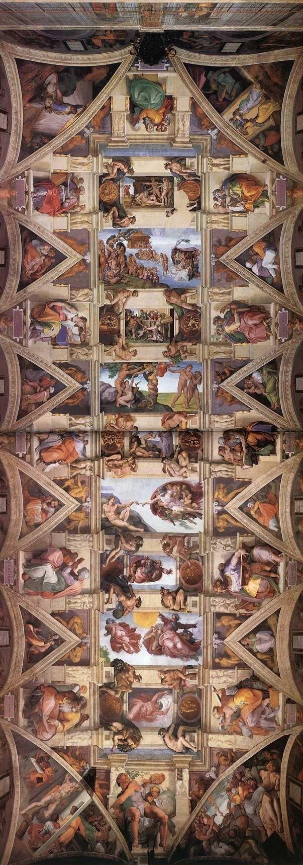 Sistine Chapel Michaelangelo
