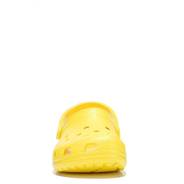 Crocs Women's Classic Clog Shoes (Yellow) - 11.0 M