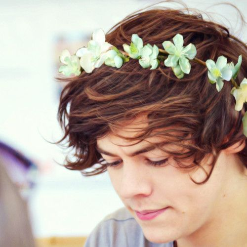 a boy can totally wear flowers and get away with it looking this good