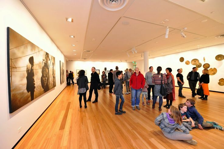 Explore a local gallery. The Town Hall Gallery, Hawthorn
