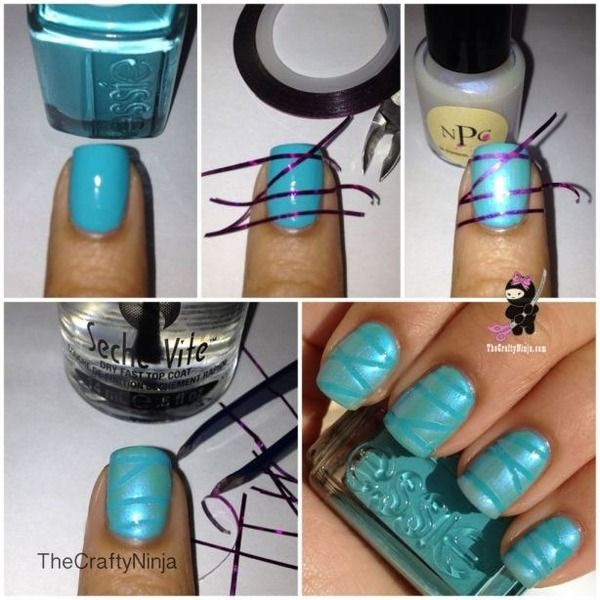 Nail Art Using Striping Tape: 1000+ Ideas About Nail Striping Tape On Pinterest