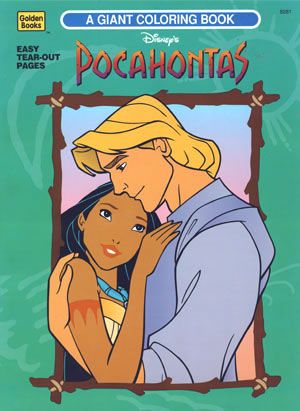 Pocahontas Giant Coloring Book Disney Coloring