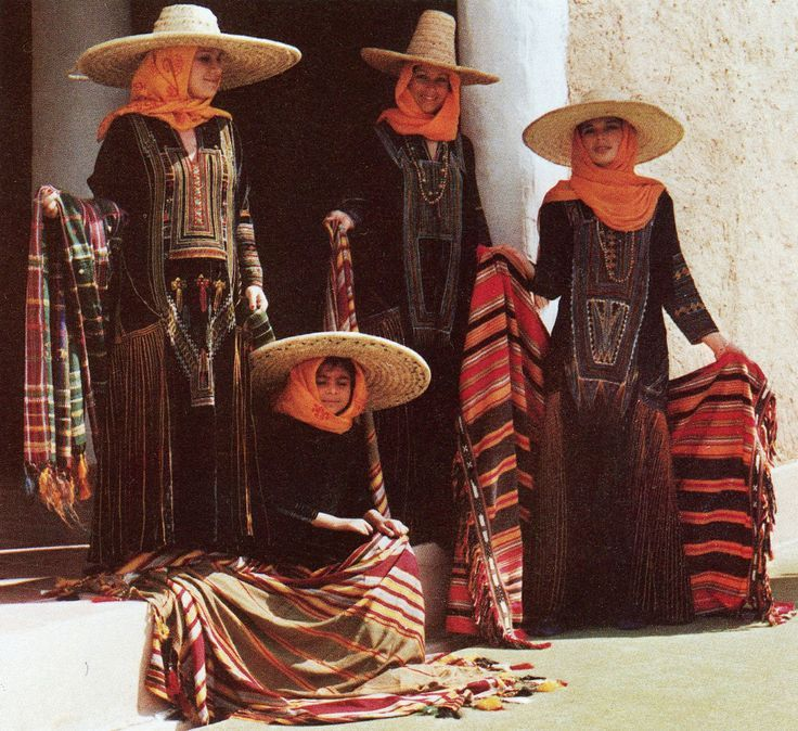 Traditional clothes in Asir