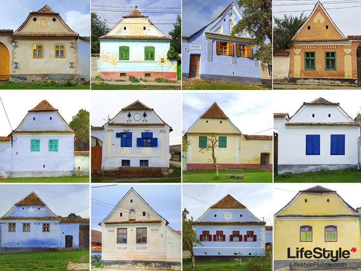 Viscri, a colorful village in Transylvania  #viscri #transylvania #travel #romania