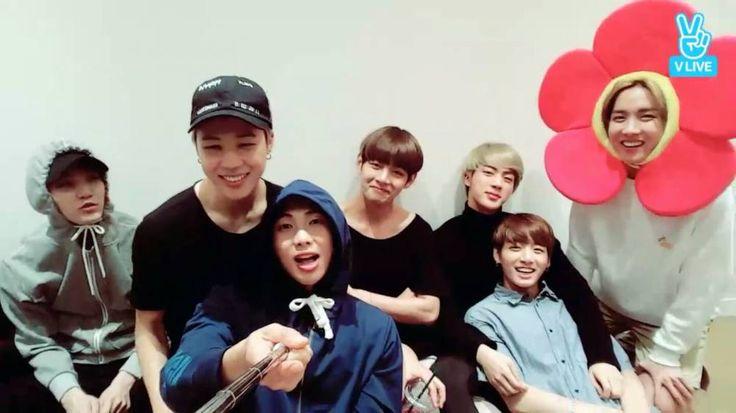 BTS wish fans a 'Merry Chuseok' http://www.allkpop.com/officialpage/vlive/2016/09/bts-wish-fans-a-merry-chuseok #bts