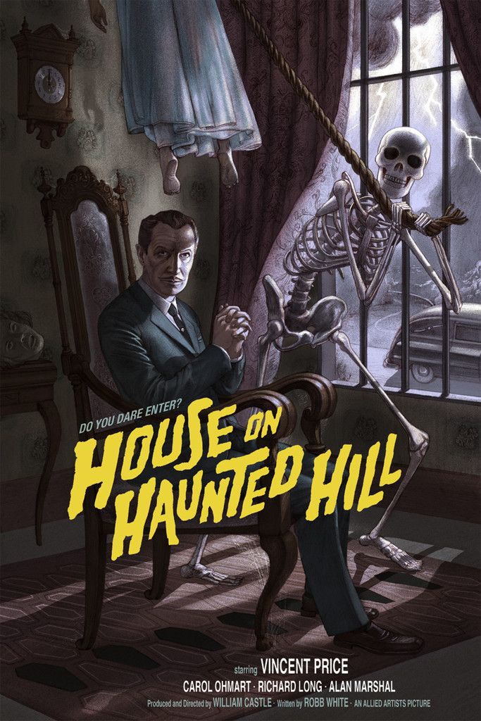 mondo-poster-art-for-vincent-prices-house-on-haunted-hill
