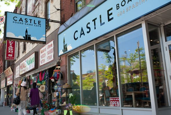 Castle Board Game Cafe
