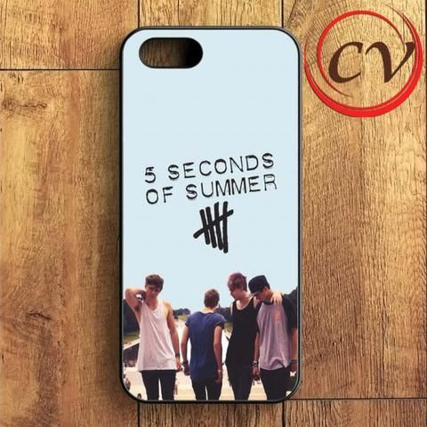 5sos 5 Second Of Summer Band iPhone SE Case