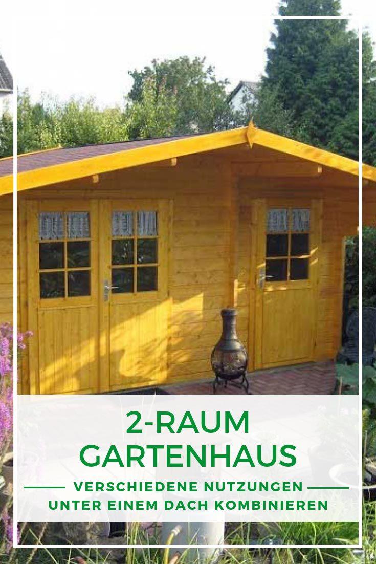 Gartenhaus Holz Elementbauweise