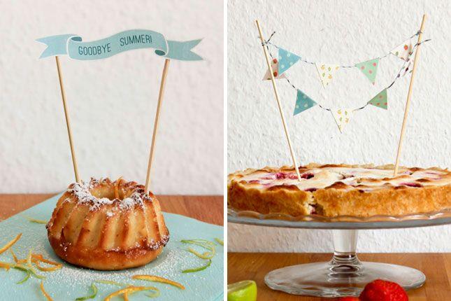 Tiered Cake Tray Sundae Bar
