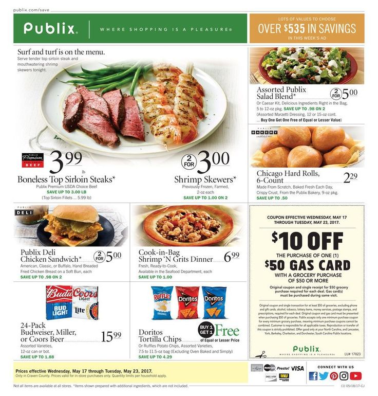 Publix Weekly Ad Circular May 17 - 23 United States #food #Publix
