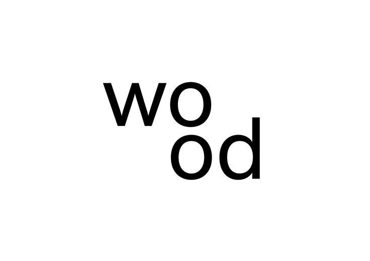 Logo til wood a+d designet av Bileke & Yang