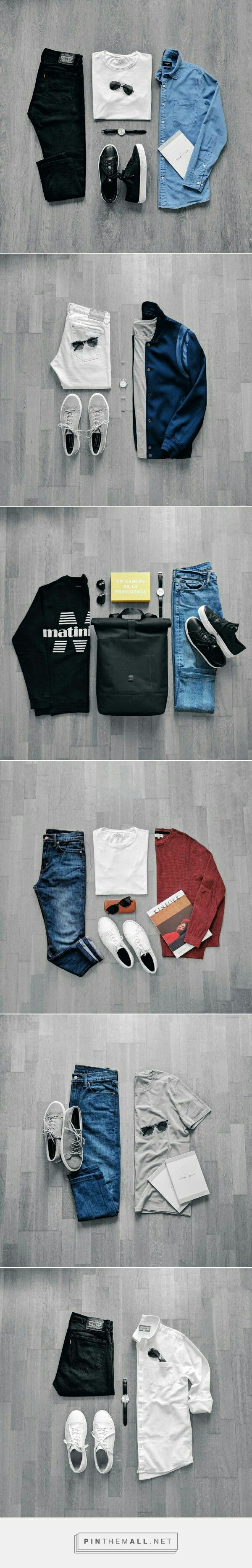 Cool Outfit Grid For Men. #Mens #fashion #style