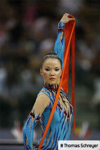 Dinara GIMATOVA (AZE) Ribbon