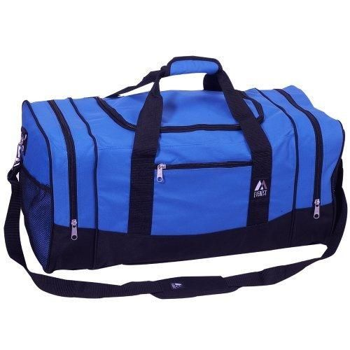 Everest Luggage Sporty Gear Bag - Large Royal Blue Royal Blue One Size