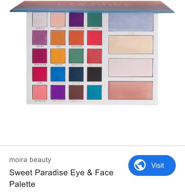 Pin By Pinksucreart On Wish List Eyeshadow Beauty Palette