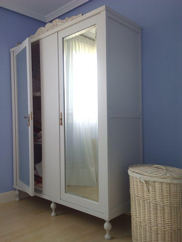 Armario ropero restaurado armario ropero restaurado - Muebles armarios roperos ...