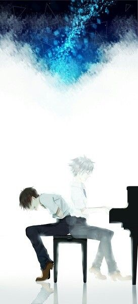 He screamed out in pain and clutched his stomach, just simply wanting to remember. He didn't even care if everyone heard in the school. 'Why did I have to get Amnesia?' He wondered, tears dripping down. He slammed his hand down on the keys, a eerie sound pouring out from the piano.