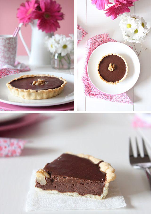 Tarta fácil de chocolate