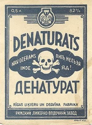 denaturats