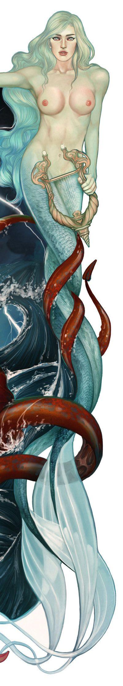 mermaid by JonathanChanutomo.deviantart