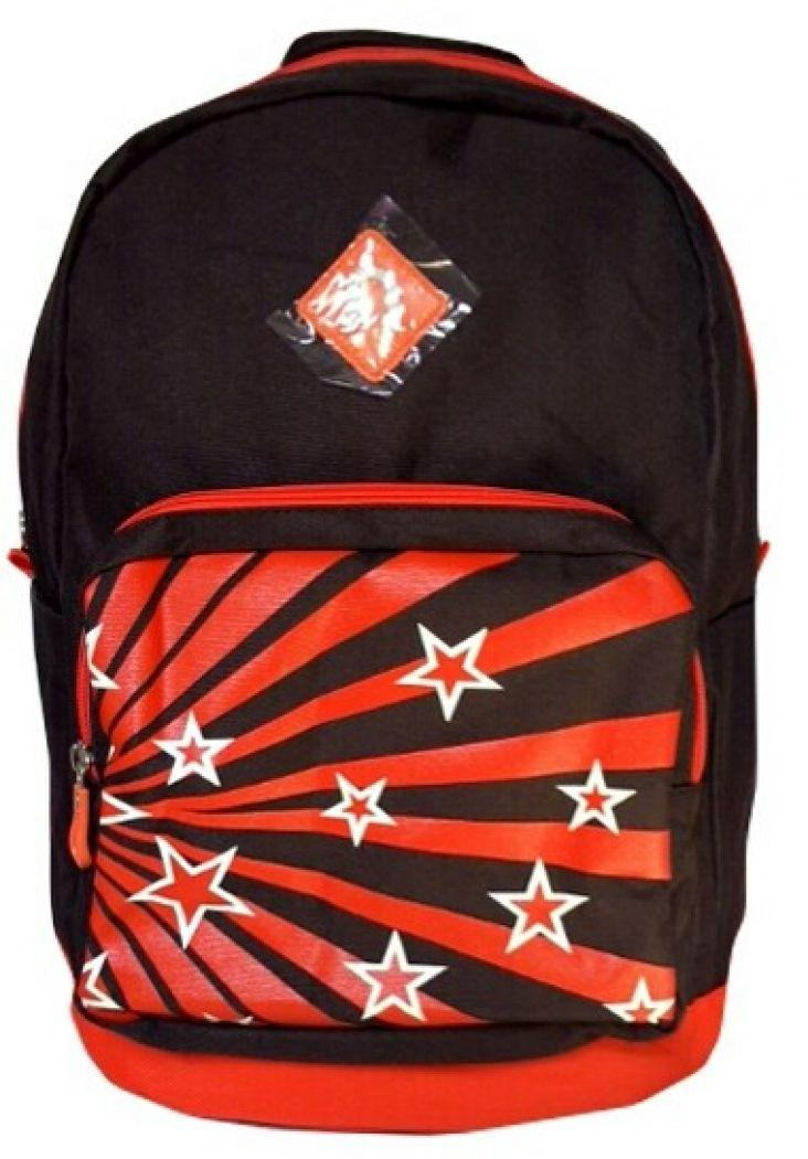 NEOSACK Retro Star Merah Tas Sekolah Laptop