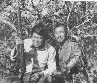 Norio Suzuki with Hiroo Onoda, the day Suzuki found Onoda. * Hiroo Onoda - Wikipedia, the free encyclopedia