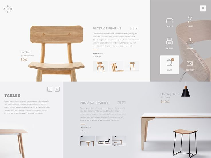 Design for carpenter from France, his son wants to start his own modern minimalist designed furniture. I hope you guys will like this.  This design is just first draft, so updates coming in near fu...