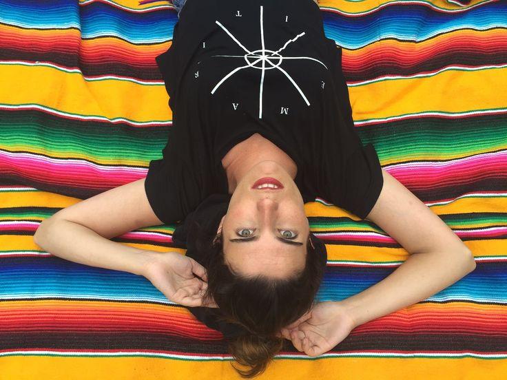 Arantza wearing Aritzatxu t.shirt! www.stukeclothing.com