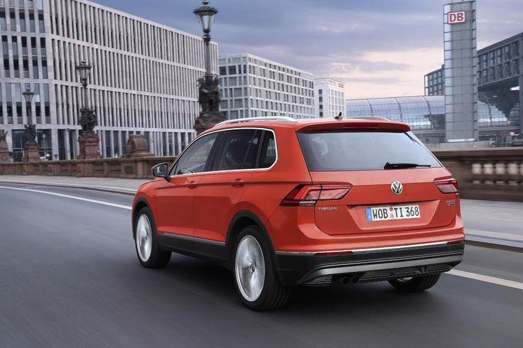 Volkswagen Tiguan 2016 - First Drive | Eurekar