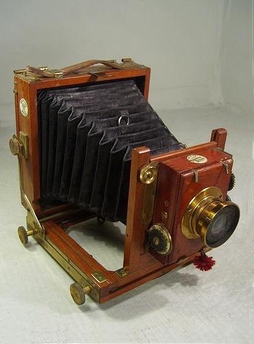 Antique Thornton Pickard Plate Folding Camera