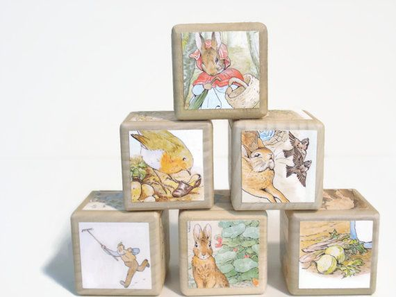 Peter Rabbit Baby Gift Sets : Tale of peter rabbit storybook blocks by