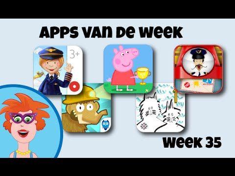 Apps van de week: week 35 - leuke en leerzame apps voor kinderen - Juf Jannie apps voor kinderen