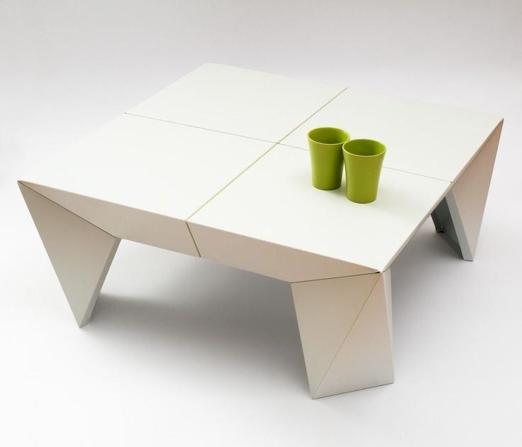 Contemporary Coffee Table VERTEX By Jonas Piet Contraforma