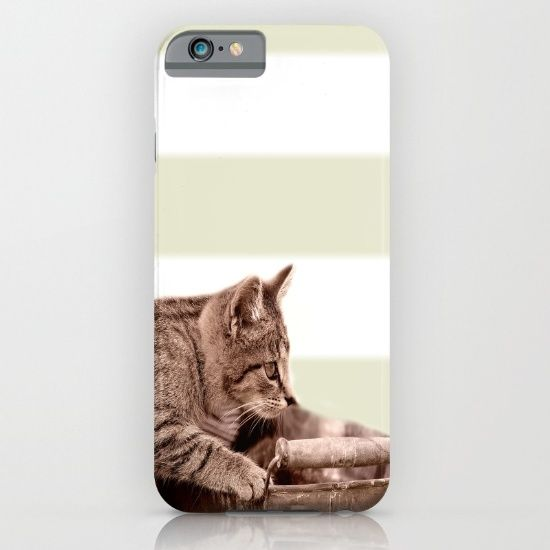 Buy Cat Play  iPhone & iPod Case by Tanja Riedel. Worldwide shipping available at Society6.com. Just one of millions of high quality products available.