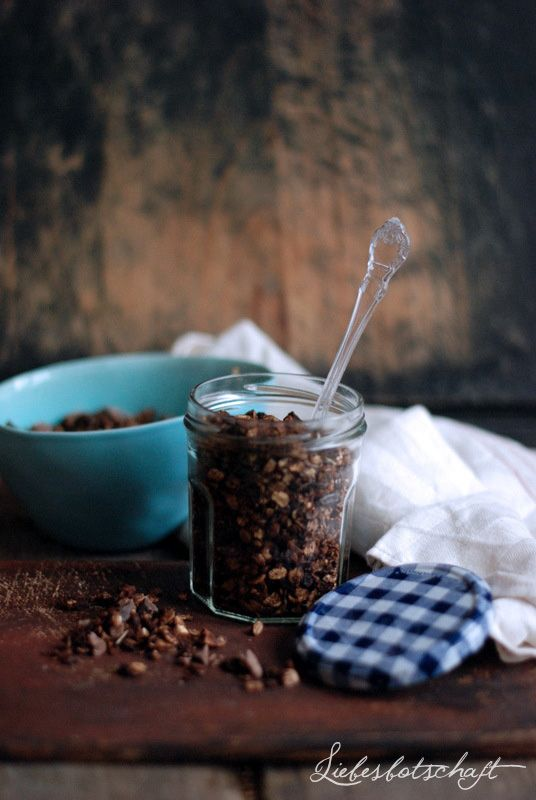 Liebesbotschaft: simple breakfast part IV.: bestes Schokoladenmüsli