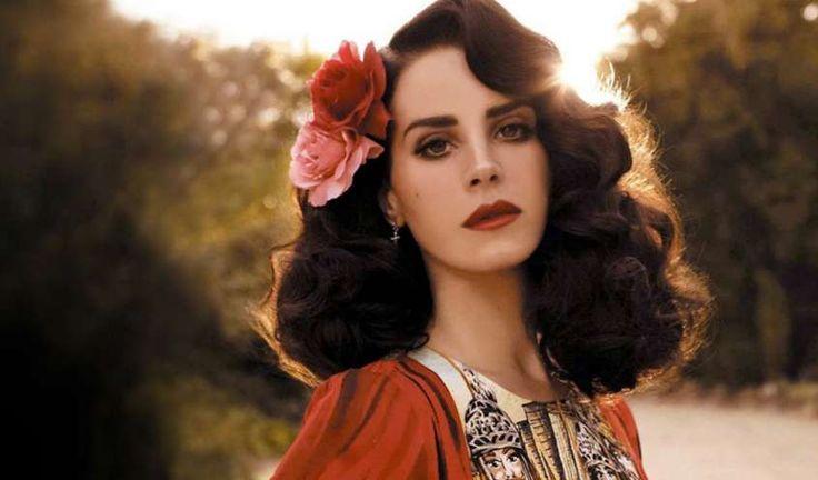 Lana Del rey, la cantante - Lana in abiti d'epoca