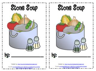 Activities to go along with the book Stone Soup.