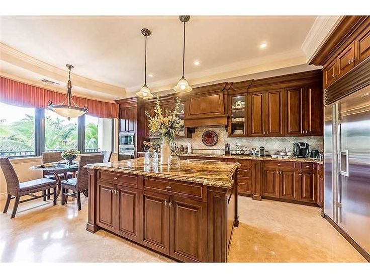 Boaters paradise luxurious and elegant waterfront home is situated in the exclusive gated community of gables ...